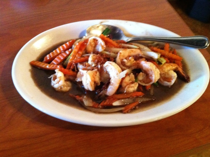 garlic lover with shrimp