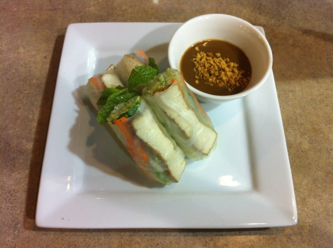 A1 goi cuon (spring rolls with shrimp & pork)