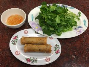 cha gio (egg rolls)