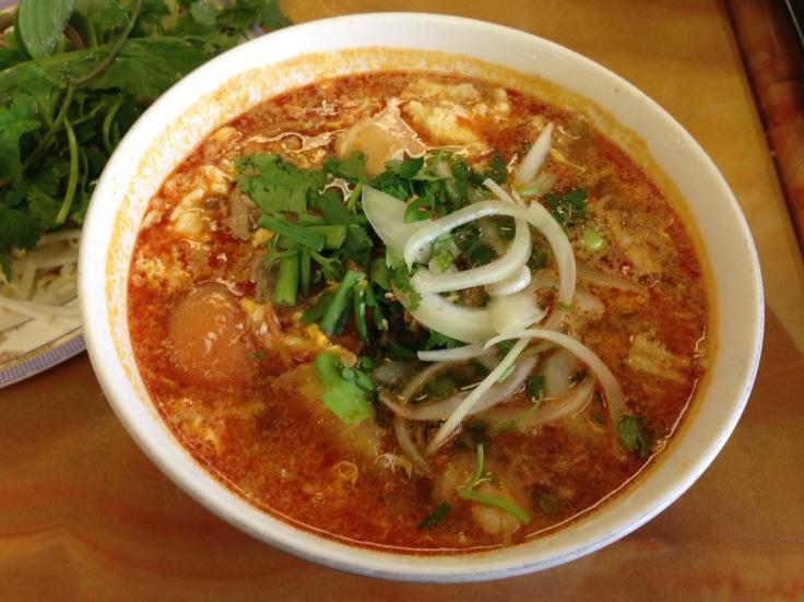 #52 bun rieu (crab noodle soup)