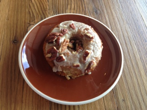 maple pecan donut