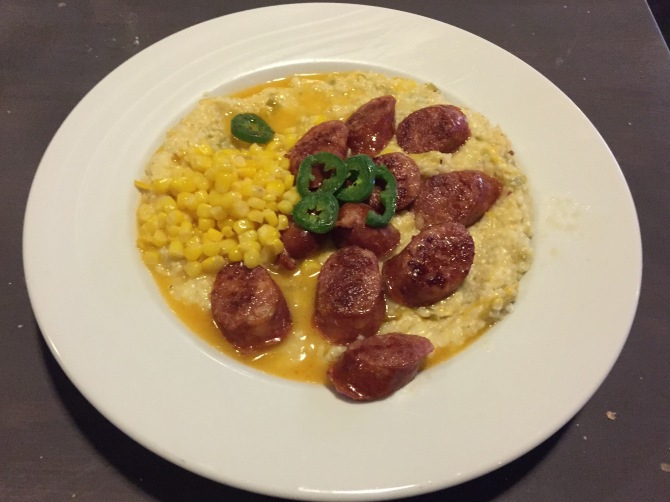 sausage and grits