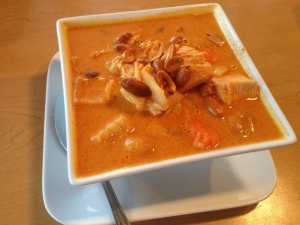 masaman curry with chicken