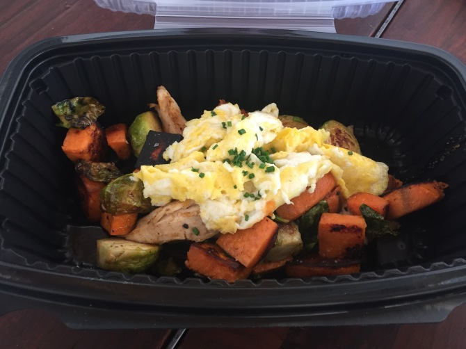 chicken vegetable hash