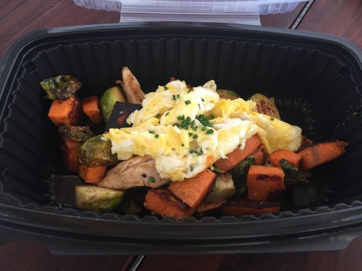 chicken vegetable hash