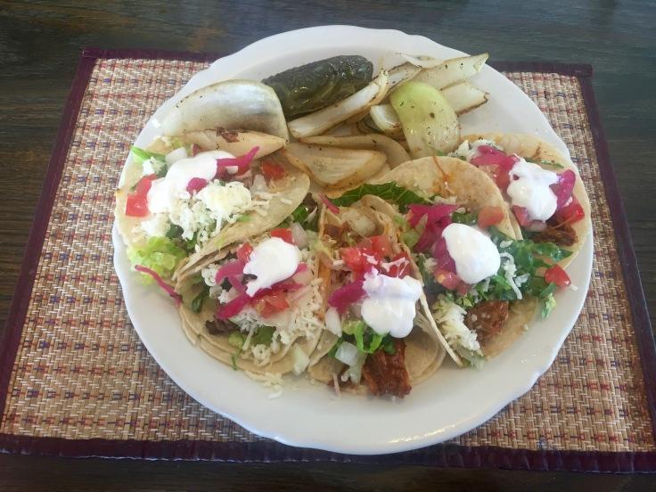 five street taco platter