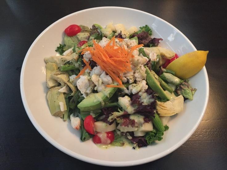 lump crab meat salad