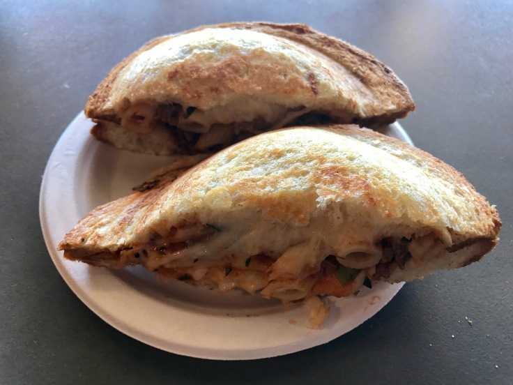 penne Bolognese sandwich special