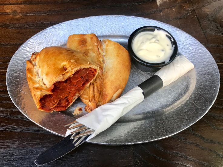 lamb vindaloo pasty