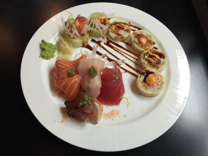 sashimi assortment