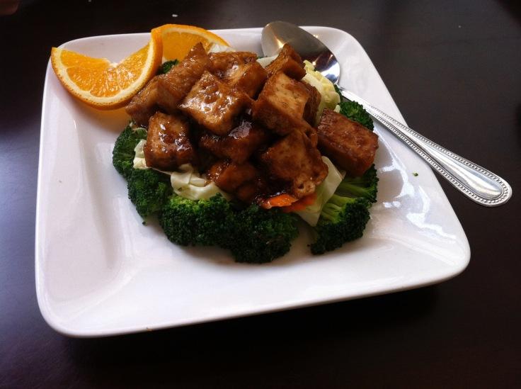 broccoli delight with tofu