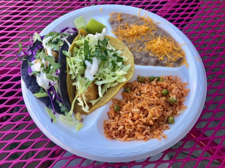 """Maui Wowie and Baja """"En-Syd-Nada"""" tacos"""