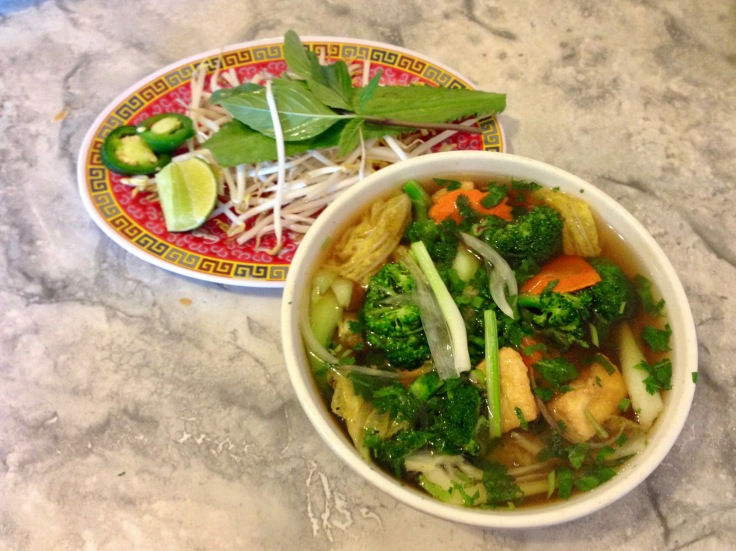 pho rau dau (vegetable pho)