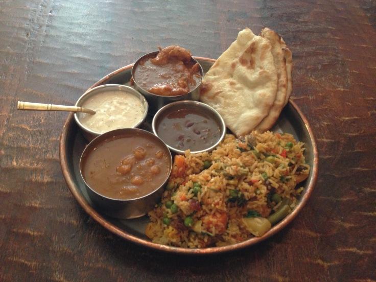 Delhi chandni chowk thali