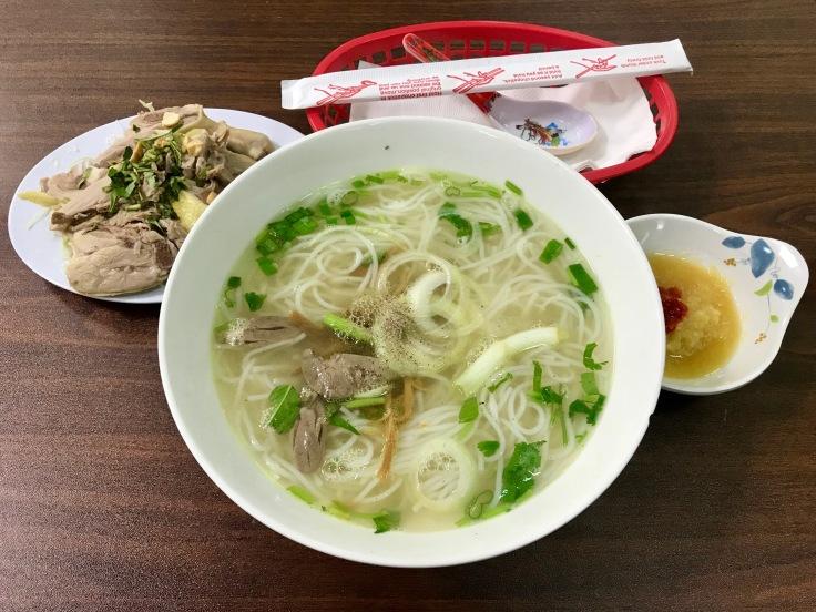 bun mang vit (duck noodle soup)