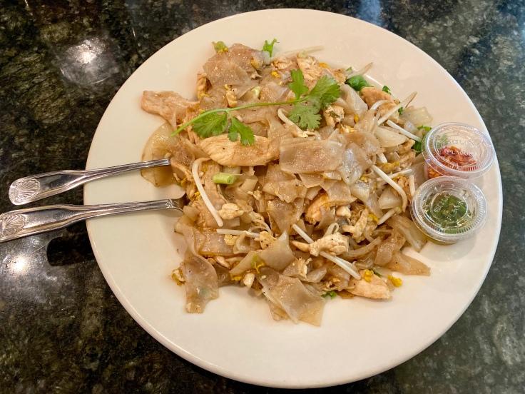 chicken noodle dish