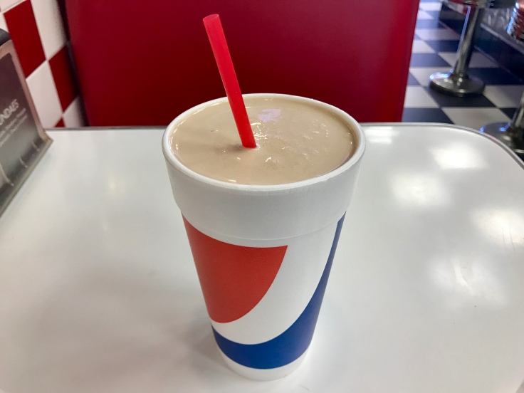 peanut butter chocolate shake